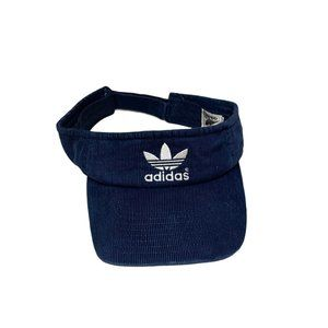 adidas adjustable corduroy visor navy blue